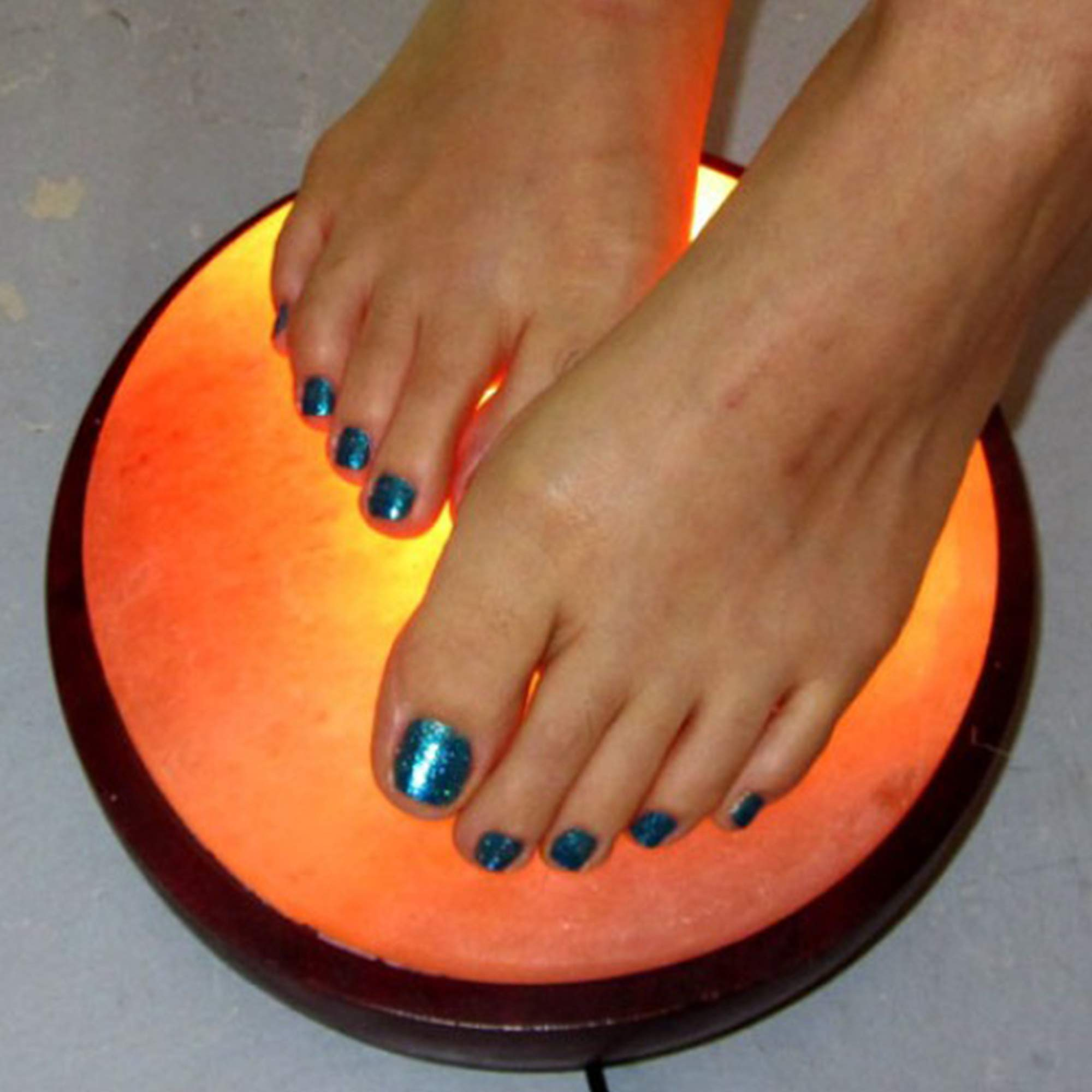 Himalayan Foot Detox Dome Salt Lamp | Remove Toxins & Relax Tired & Achy Feet | 8-11lbs by Himalayan Glow (Image #5)