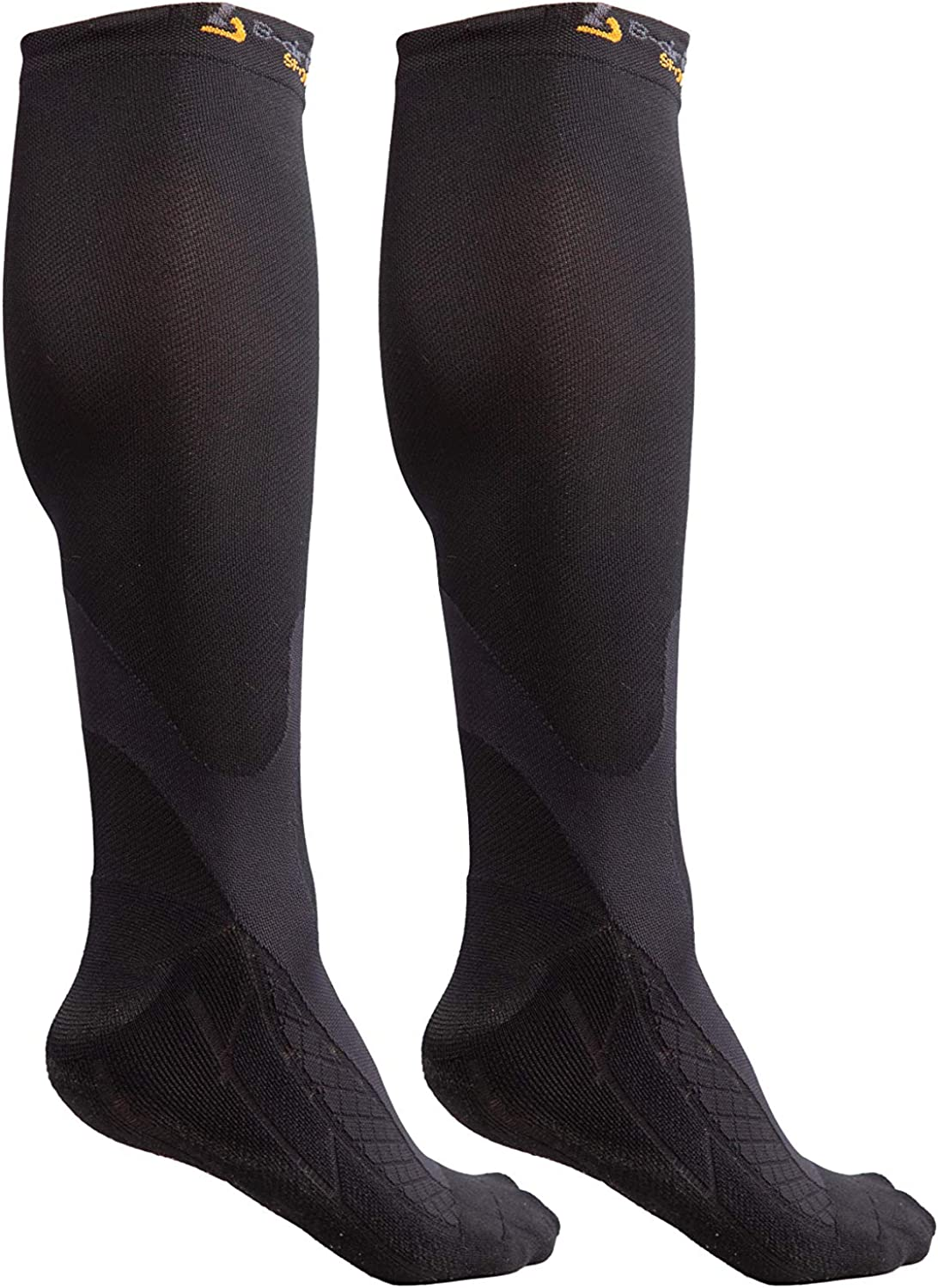 Graduated 20-30mmHG Knee High Wide Calf Athletic Compression Socks