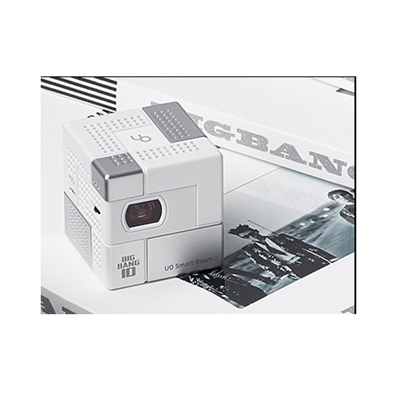 MINI BEAM Mini proyector Plata Blanca: Amazon.es: Electrónica