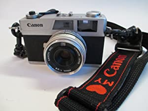 VINTAGE CANON CANONET 28 35MM COMPACT FILM CAMERA WITH 40MM 2.8 LENS