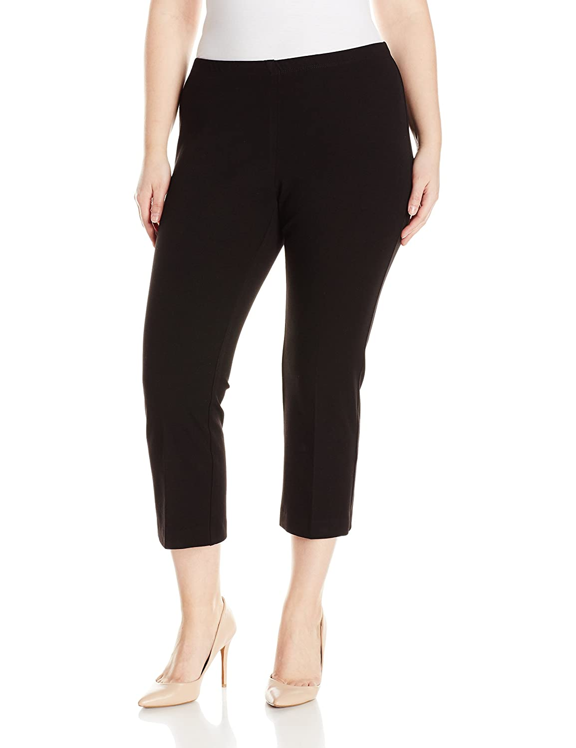 1ee90553e57c Top11  Karen Kane Women s Plus Size Cropped Flare Pant