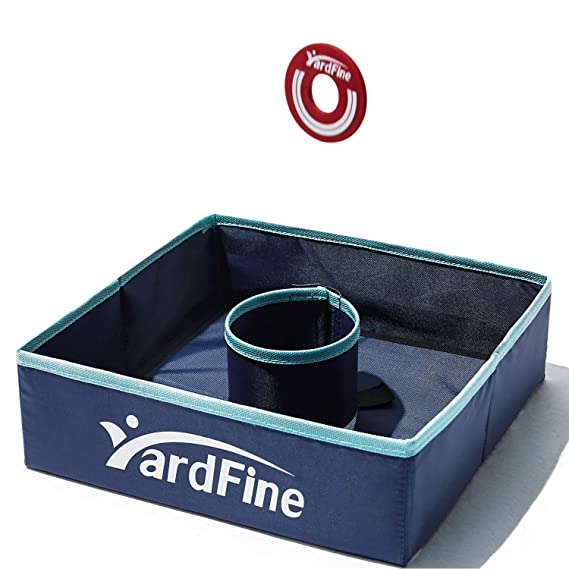 YardFine Washer Toss Game Set Includes 6 Washers with Carrying Case Playtime Sports Washer Game for Lawn Backyard Beach Tailgate,Outdoors Game Gift for Kids Adults Family