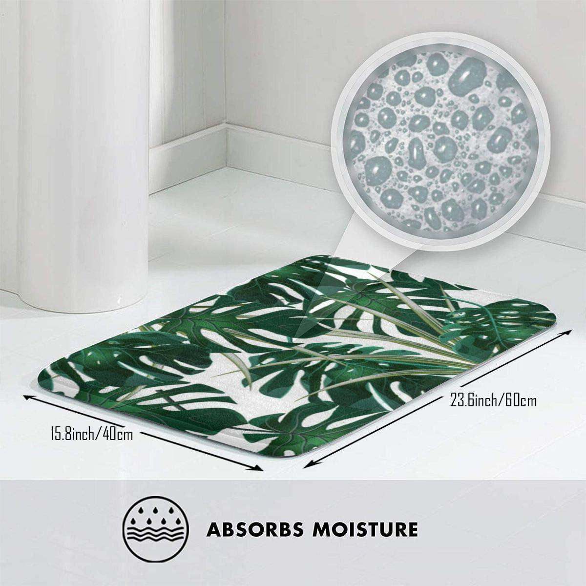 Details about  /Trippy Green Wings In Dark Bath Mat Flannel Rugs Anti-slip Floor Mat Door Mat