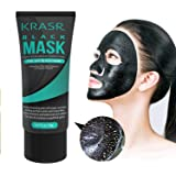 Blackhead Remover Mask [Removes Blackheads]-Premium Quality Black Pore Removal Peel off Strip Mask for Face Nose - Best Mud Facial Mask 50g (1.67 Oz) By Krasr