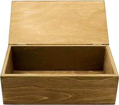 Caja Barber rectangular de madera piccolo 19 x 11 x 6.5 cm ...