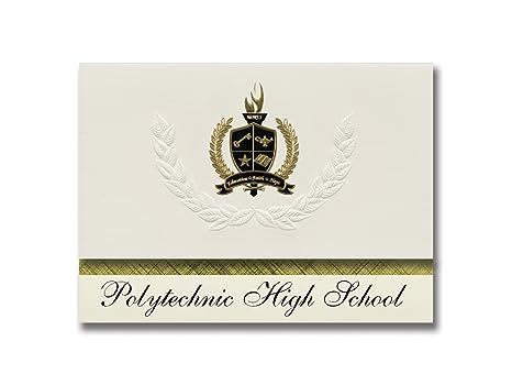 Signature Announcements Polytechnic High School Riverside Ca