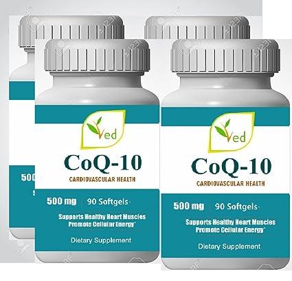 CoQ 10, Co Enzyme Q10 500mg 360 cápsulas (Softgels ...