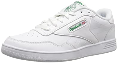cf997f836bf Reebok Men s Club MEMT Sneaker White Glen Green 3.5 ...