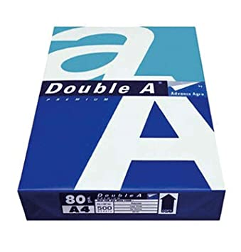 Copying Paper, Double A, A4, 80 g/sqm, White, 2500 Sheets: Amazon.co ...