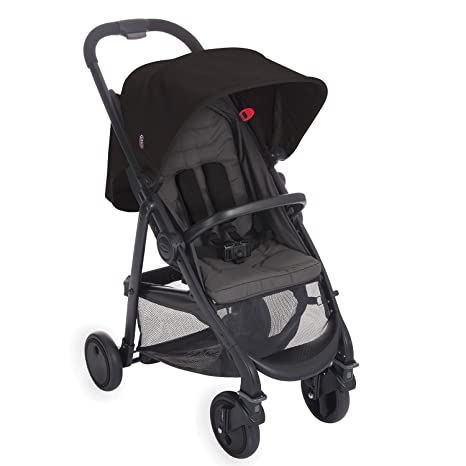 Graco Blox - Coche de bebé, color negro y gris