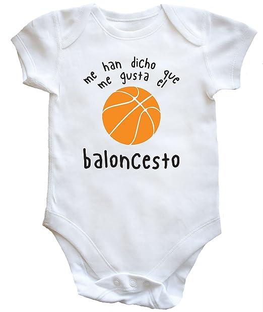 Hippowarehouse Me Han Dicho Que Me Gusta El Baloncesto Body Bodys ...