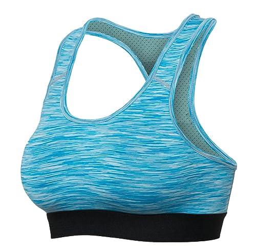 Bmeigo Mujer Quick Dry Training Racerback Exercise Yoga Bra Vest Tops Sujetador Deportivo