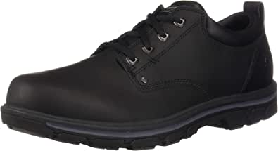 Skechers Men's Segment-RILAR Oxford, Black, 15 Medium US