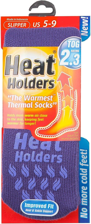 37-42 euro, Donne Heat Holders termico Calzini Pantofola