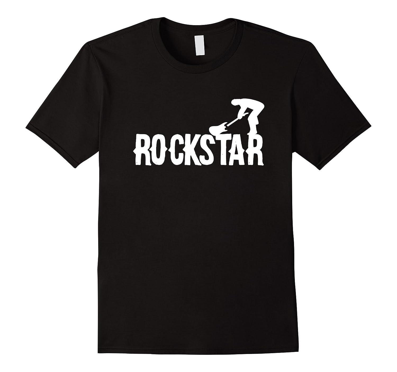 Womens Rockstar T shirt Large Black-Awarplus