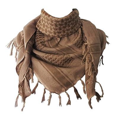 Explore Land 100 - Bufanda de algodón militar de Shemagh Tactical Desert Keffiyeh