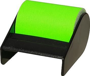RNK ct1918 de notas adhesivas en dispensador, color verde neón: Amazon.es: Oficina y papelería