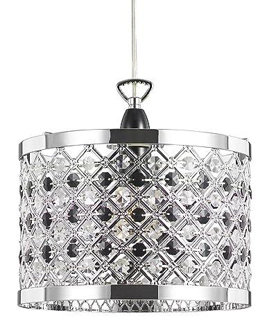 Haysom Interiors - Pantalla para lámpara de techo (metal ...