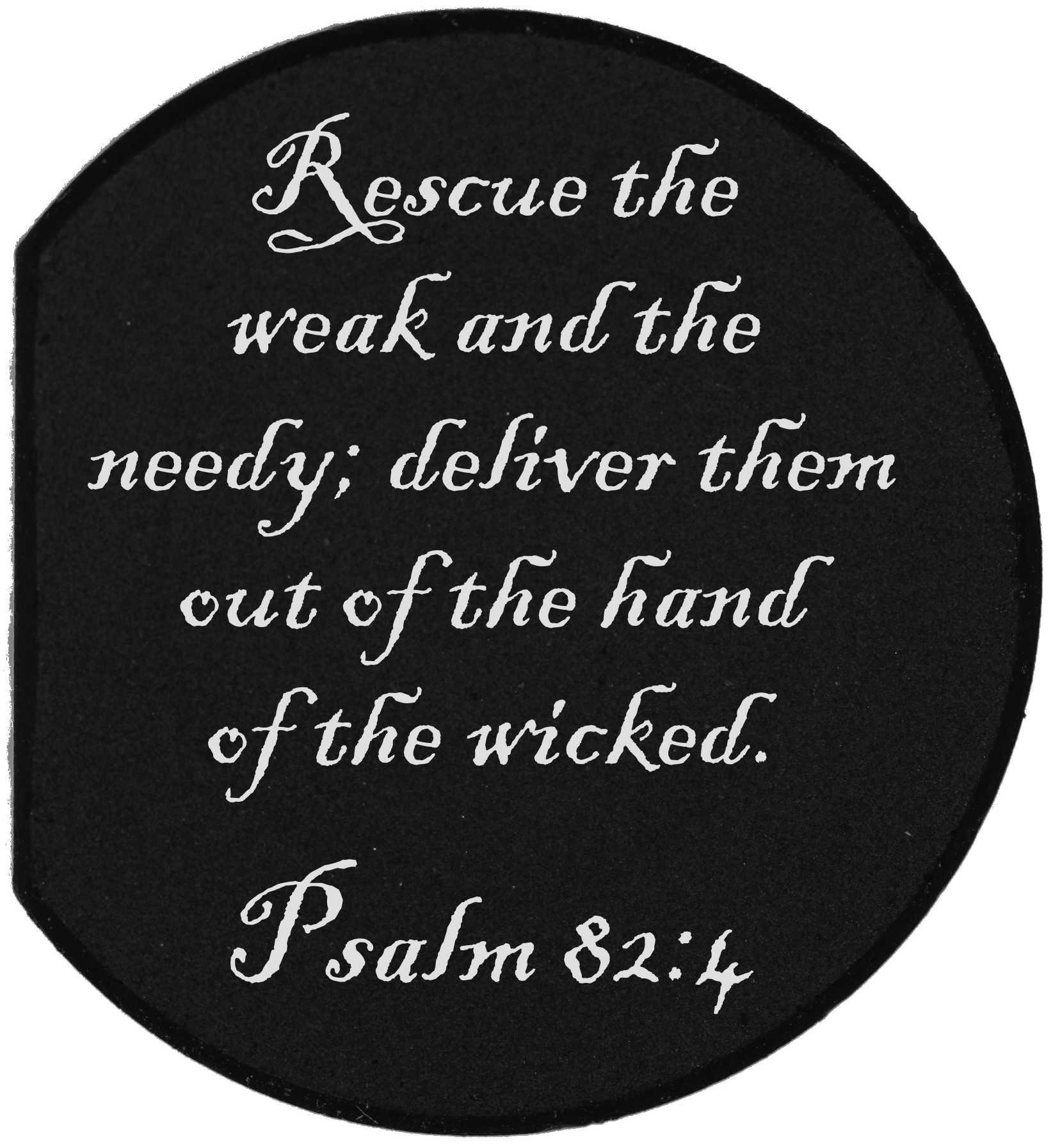Forward Assist Cap - PSALM 82:4