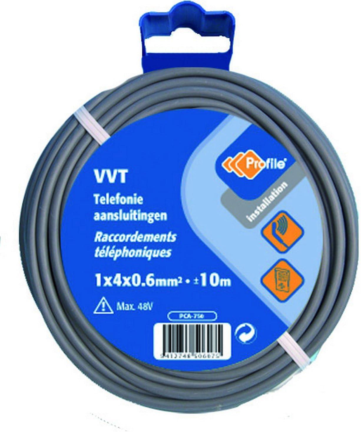 PROFB 790410611 C/âble Vvt 1X4X0.6 T/él/éphone 25 m