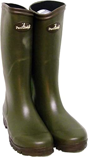 Percussion Sologne Neoprene Hunting Wellington Boots Shooting Fishing Hunting