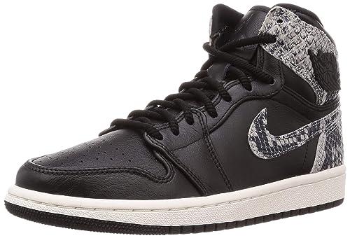 revendeur b8168 00526 Nike Sneaker Chaussures Femme AIR Jordan 1 Ret Hi Premium en ...