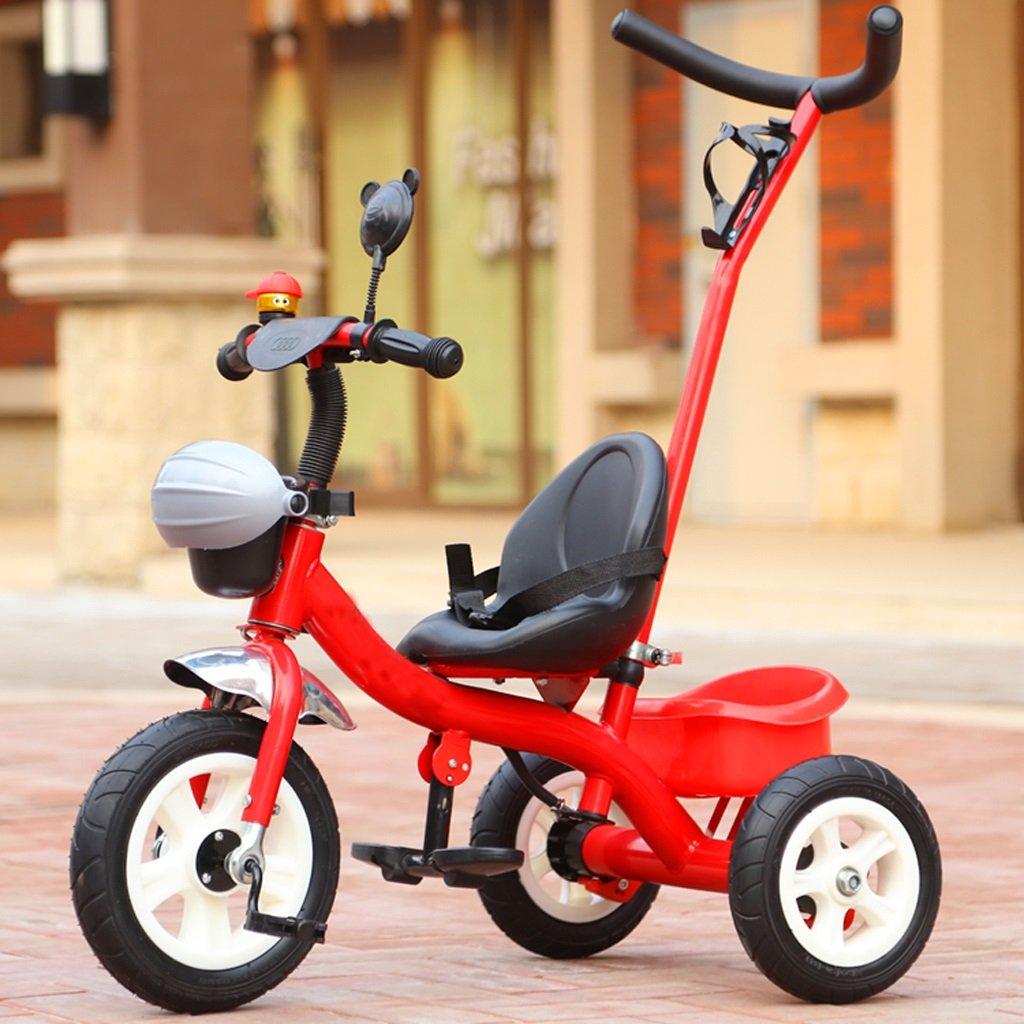 TLMY トロリー、ベビーカー、子供用自転車 ベビー用トロリー (色 : Red)  Red B07GBNT5K1