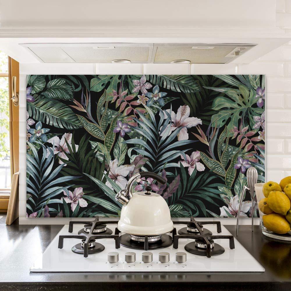 kina PR00081 Misure 70x50 cm Pannello paraschizzi Retro Piano Cottura in Plexiglass Stampa in altissima risoluzione Resistente al Calore