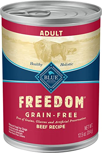 Blue Buffalo Freedom Grain Free Natural Adult Wet Dog Food