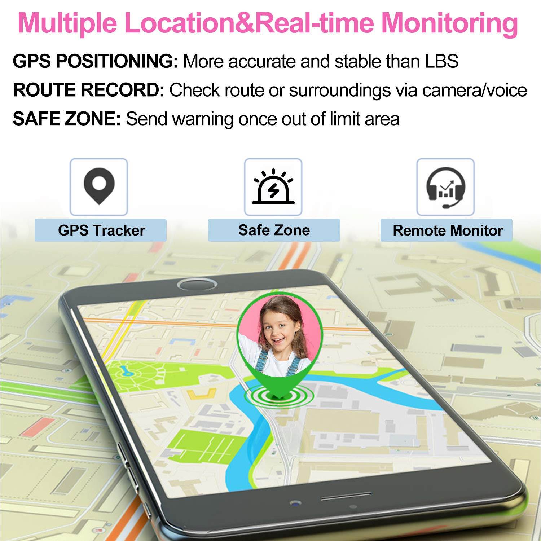 Amazon.com: 【2019 Series】Kids GPS Tracker Outdoor Activity ...