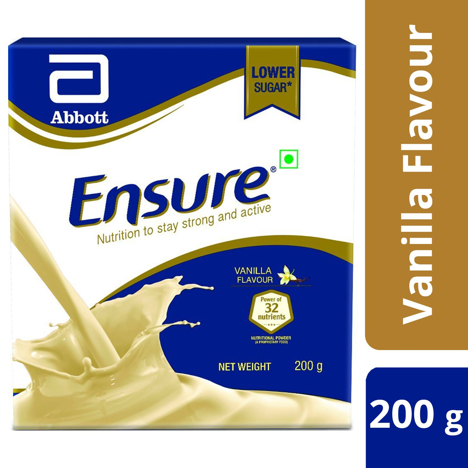 Buy Ensure Complete Balanced Nutrition Drink For Adults With Nutri Pediasure Vanilla Tin 400 Gr Strength Complex Flavour 200g Online At Low Prices In India