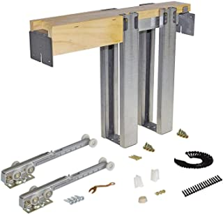 product image for Johnson Hardware 1500 Soft Close Series Commercial Grade Pocket Door Frame For 2x4 Stud Wall (36 inch x 80 inch)