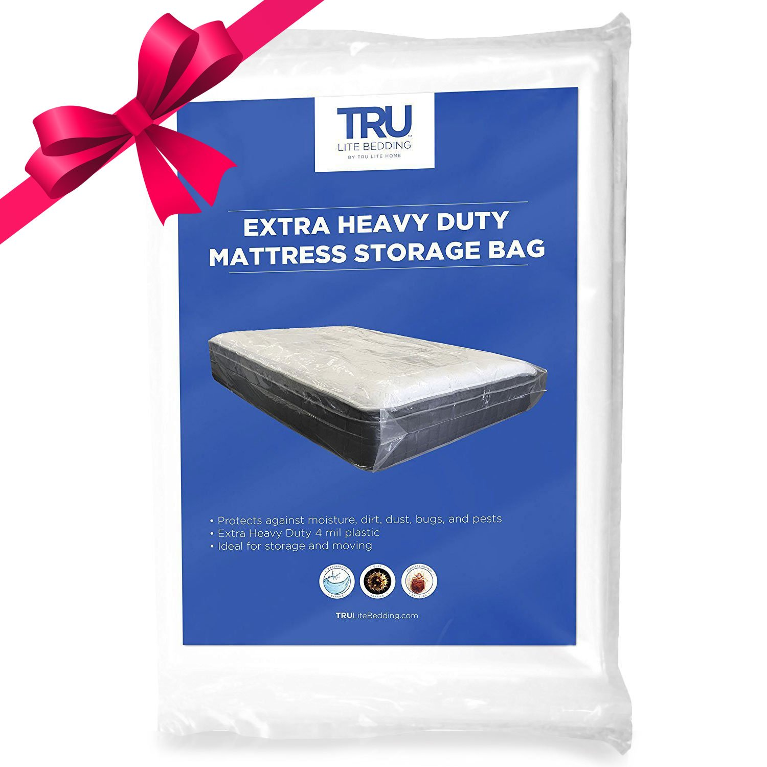 bag bath on seal storage shipping over overstock heavy mattress product free tite duty bedding orders sealable