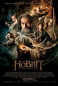 THE HOBBIT DESOLATION OF SMAUG MOVIE POSTER 2 Sided ORIGINAL FINAL 27x40