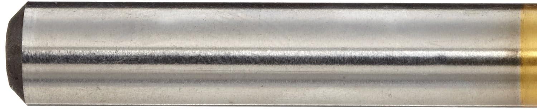 Slow Spiral Pack of 5 Straight Shank 7.45mm Diameter x 74mm Length 135 Degree YG-1 D4107 High Speed Steel Split Point Stub Length Drill Bit TiN Finish