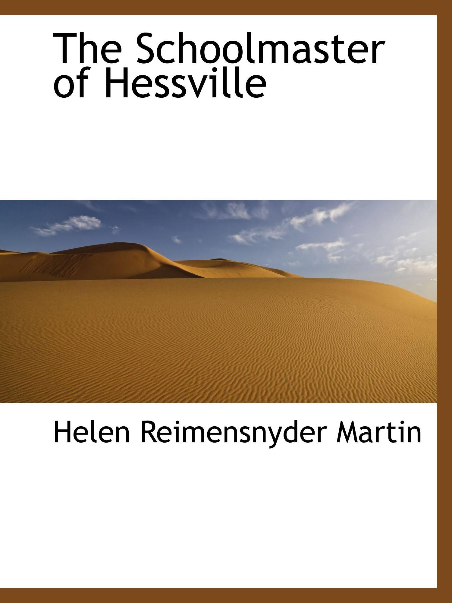 The Schoolmaster of Hessville pdf epub