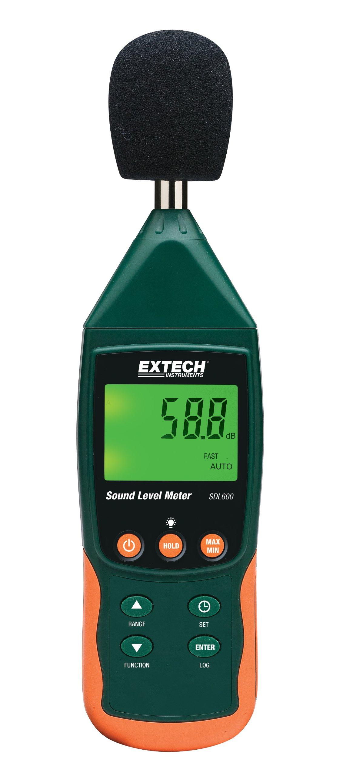 Extech SDL600 Sound Meter SD Logger