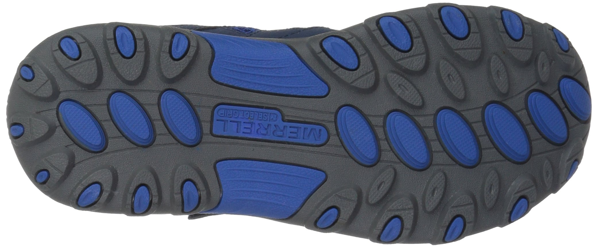 Merrell Trail Chaser Hiking Shoe, Navy, 4 M US Big Kid by Merrell (Image #3)