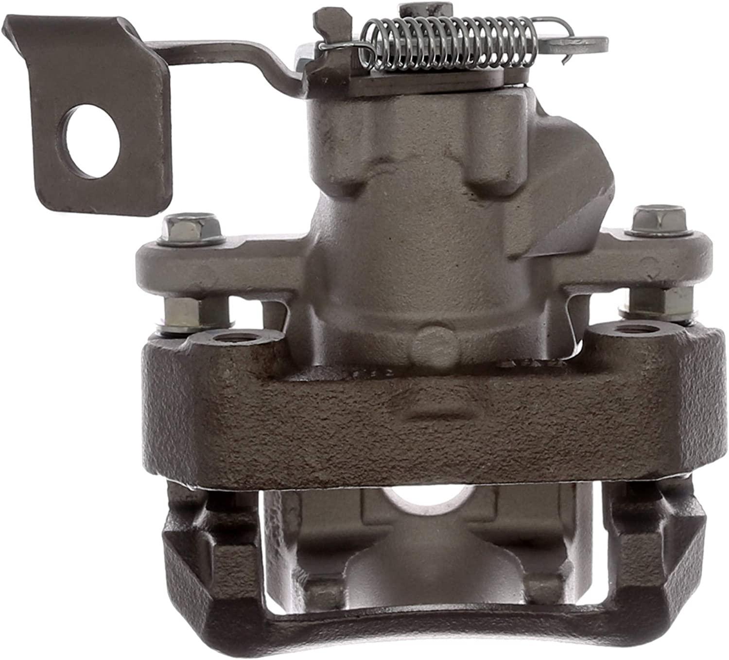 ACDelco 18FR12542 Professional Rear Driver Side Disc Brake Caliper Assembly without Pads Friction Ready Non-Coated Remanufactured