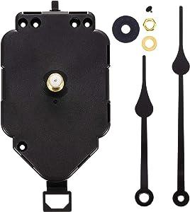 Reemplazo de Movimiento de Reloj Pendulum Mecanismo de Movimiento de Reloj de Cuarzo de Eje Largo (Longitud de Eje 4/5 Pulgada/ 20 mm)