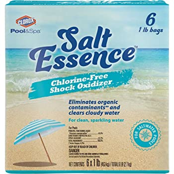 Clorox 81006CLX Saltwater Chlorine-Free Pool Shock