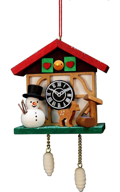 Amazon.com: Christian Ulbricht Reloj de cuco muñeco de nieve ...