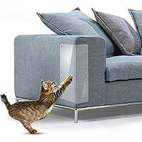 Furniture Anti-scratch Sticker Set 2pcs Cat Scratch Deterrent Pinless Self-adhesive Pads Furniture Scratch Guards for Sofa