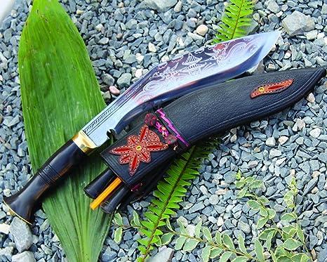 Amazon.com: gangawala del Himalaya Engrav Gurkha Kukri ...