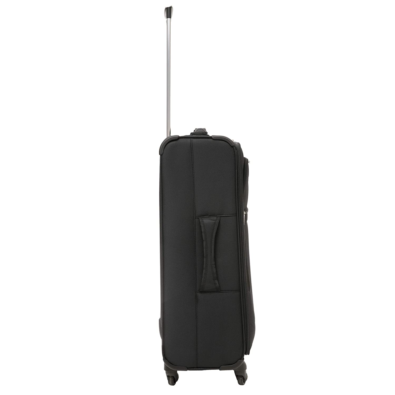 Aerolite Bagage Cabine /à Main Valise Renforc/ée Souple L/éger 4 roulettes Noir