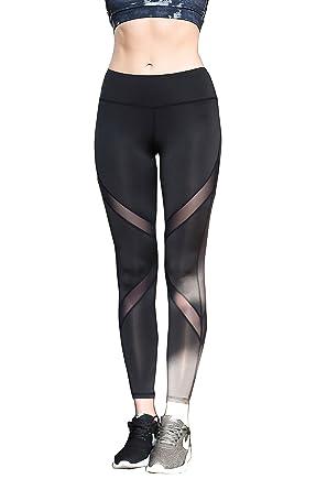 885639a4a6 Amazon.com  TOP-3 Yoga Pants Workout Legging For Women  Clothing