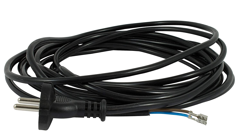 Netzkabel 6 m für Moulinex Classic 947 Staubsaugerkabel Staubsauger Kabel Ersatzkabel Saugerkabel Anschlusskabel Kabel Ersatzteile