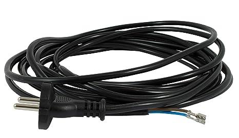 Netzkabel 6 m für Siemens Z4.0 Staubsaugerkabel Staubsauger Kabel Ersatzkabel Saugerkabel Anschlusskabel Kabel