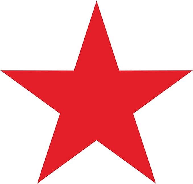 Copytec /Pegatinas – Estrella Roja Red Star Escudo unión soviética CCCP SSSR unión soviética Rusia Rojos Ejército Army NVA (10 x 10 m) # A063: Amazon.es: Coche y moto