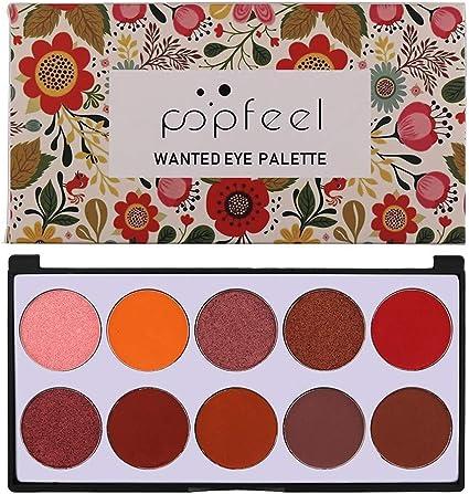 La nueva paleta de sombras de ojos desnuda 10 colores mate ...